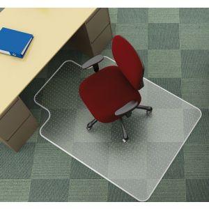 Mata pod krzesło Q-CONNECT, na dywany, 120x90cm, kształt T