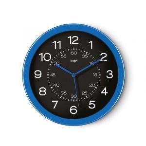 Zegar ścienny CEP Pro Gloss, 30cm, niebieski