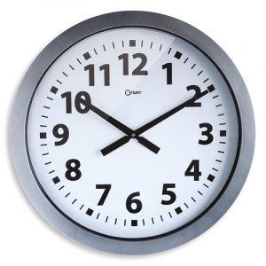 Zegar ścienny CEP Giant, 60cm, srebrny