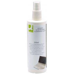 Spray do czyszczenia ekranów TFT/LCD/LED i klawiatur Q-CONNECT, 250ml