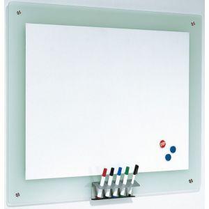 Tablica magnetyczna FRANKEN, 106x77cm, rama szklana