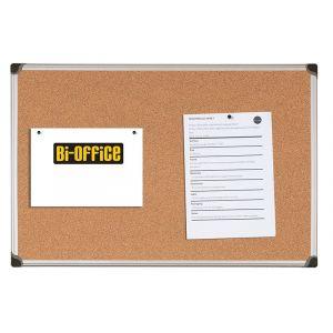 Tablica korkowa BI-OFFICE, 180x120cm, rama aluminiowa