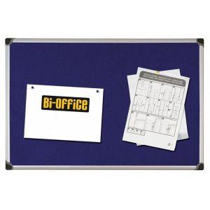 Tablica filcowa BI-OFFICE, 60x90cm, niebieska