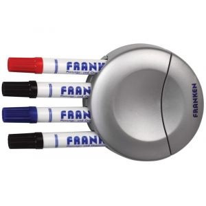 Gąbka do tablicy FRANKEN, magnetyczna, zintegrowany uchwyt na markery