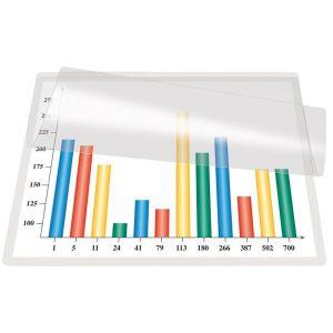 Self-laminating Card Q-CONNECT, A4, 225x312mm, 5pcs, clear