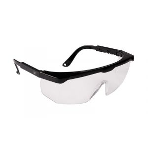 Okulary ekon. Secure Control (AS-01-002), transparentne