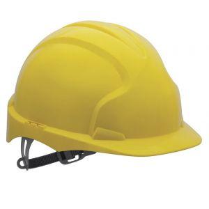 Kask ochronny Evo2, żółty