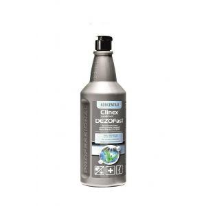 CLINEX DezoFast 1L koncentrat dezynfekcja powierzchni (k/6)