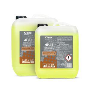 CLINEX 4HALL 5L mycie posadzek w obiektach wielkopowierzchniowych  do ręcznego i maszynowego stosowania