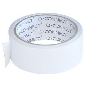 Taśma dwustronna Q-CONNECT, 38mm, 10m, transparentna