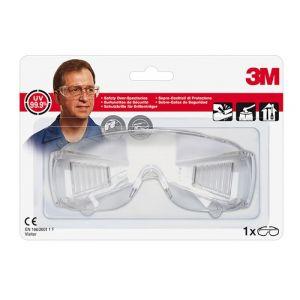 Okulary ochronne 3M Clear Visitor, transparentne