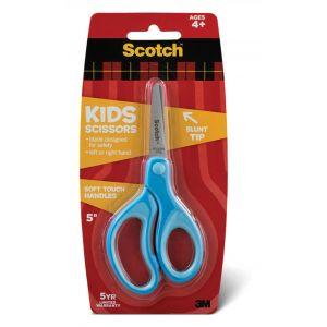 Nożyczki dla dzieci SCOTCH® (1442B), 12cm, zaokrąglone, niebieskie