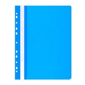Skoroszyt OFFICE PRODUCTS, PP, A4, miękki, 100/170mikr., wpinany, niebieski