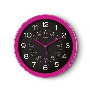 Zegar ścienny CEP Pro Gloss, 30cm, różowy
