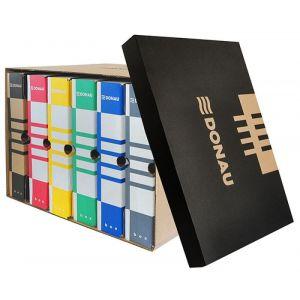Pudło archiwizacyjne DONAU, karton, zbiorcze, górne, brązowe