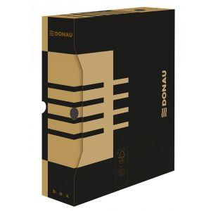 Pudło archiwizacyjne DONAU, karton, A4/80mm, brązowe