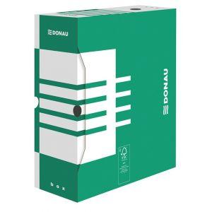 Pudło archiwizacyjne DONAU, karton, A4/120mm, zielone