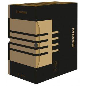 Pudło archiwizacyjne DONAU, karton, A4/155mm, brązowe