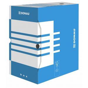 Pudło archiwizacyjne DONAU, karton, A4/200mm, niebieskie