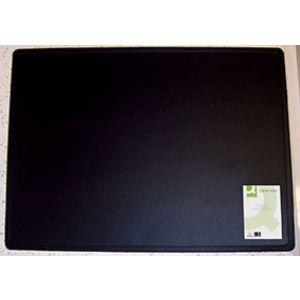 Podkładka na biurko Q-CONNECT, 63x50cm, czarna