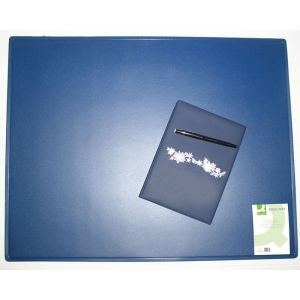 Podkładka na biurko Q-CONNECT, 63x50cm, niebieska