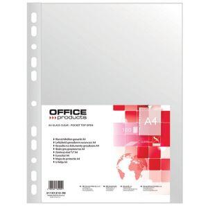 Koszulki na dokumenty OFFICE PRODUCTS, PP, A4, groszkowe, 45mikr., 100szt.