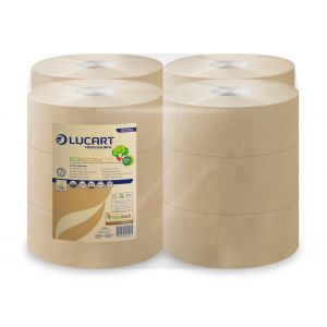 Papier toaletowy LUCART Eco Natural 2W 150m brązowy op. 12 rol.