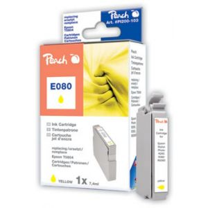 Tusz PEACH R Epson T0804 (do Stylus Photo P 50), yellow
