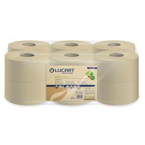 Papier toaletowy EcoNatural 19J LUCART 160m, 2W, op.12rol. MINI JUMBO