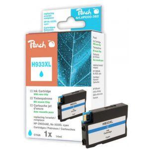 Tusz PEACH K HP CN054AE, No 933XL (do OJ 6100 e-Printer), cyan