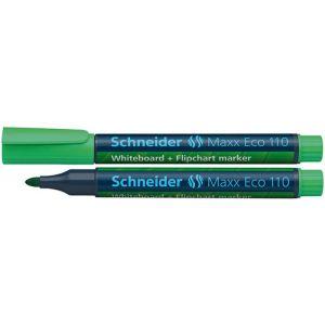 Marker do tablic SCHNEIDER Maxx Eco 110, okrągły, 1-3mm, zielony