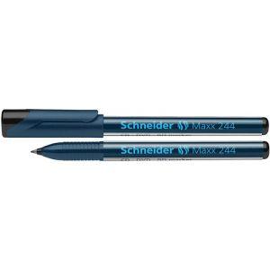 Marker do płyt CD/DVD SCHNEIDER Maxx 244, 0,7mm, czarny