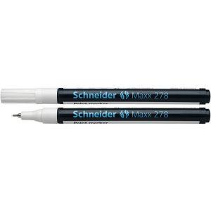Marker olejowy SCHNEIDER Maxx 278, 0,8mm, biały
