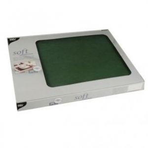 Podkładki na stół, PAPSTAR Soft Selection 30x40 100szt c.zieleń, włóknina