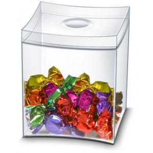 Pudełko na słodycze CEP Take a break, transparentne