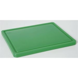 HACCP cutting board - GN 1/2 green for vegetables