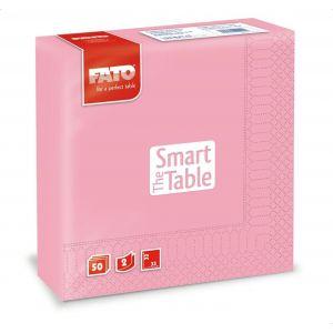 Serwetki 33x33 2W różowe FATO Smart Table, op. 50 sztuk