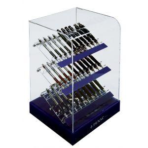 Display długopisów PENAC D19 ACRYL VITRINE, 30szt., mix kolorów
