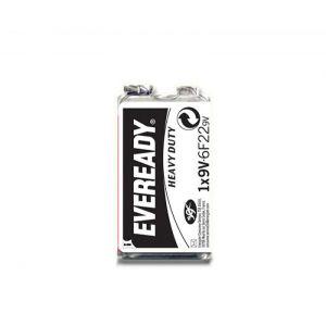 Bateria EVEREADY Heavy Duty, E, 6F22,9V