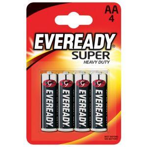 Bateria EVEREADY Super Heavy Duty, AA, R6, 1,5V, 4szt.