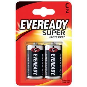 Bateria EVEREADY Super Heavy Duty, C, R14, 1,5V, 2szt.