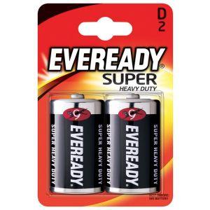 Bateria EVEREADY Super Heavy Duty, D, R20, 1,5V, 2szt.