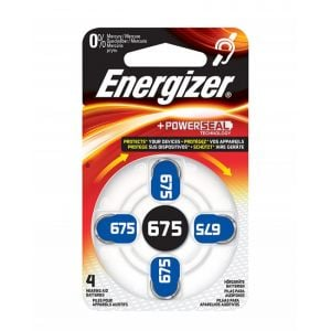 Bateria słuchowa ENERGIZER, 675, 4szt.