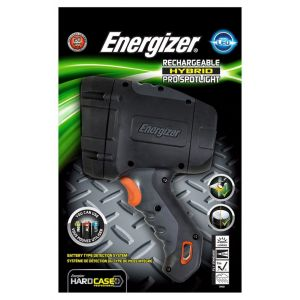 Latarka ENERGIZER Hard Case Led, recharchable, czarna