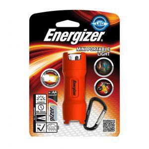 Latarka ENERGIZER Mini Portable + 1szt. baterii AA, mix kolorów
