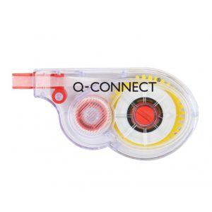 Korektor w taśmie Q-CONNECT, myszka, jednorazowy, 5mmx8m, zawieszka
