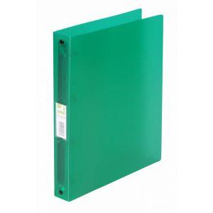 Segregator ringowy Q-CONNECT, PP, A4/4R/25mm, transparentny zielony