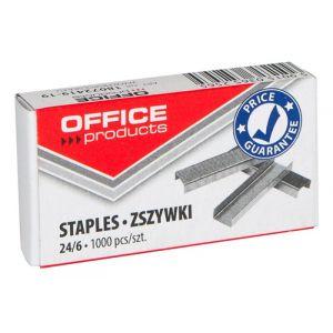 Zszywki OFFICE PRODUCTS, 24/6, 10x1000 sztuk