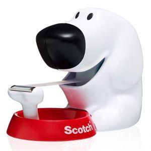 Dyspenser do taśm Scotch® w kształcie pieska (C31-Dog), taśma GRATIS