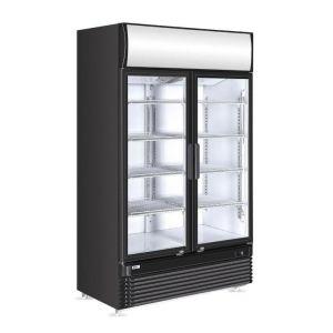 Witryna chłodnicza z podświetlanym panel em 2-drzwiowa 750 l